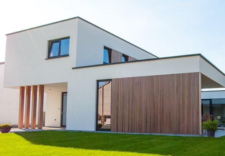 Rond Huis Bouwen : Uw moderne woning bouwen? laat je inspireren door lapeirre.